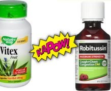 Vitex vs. Robitussin