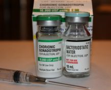 hCG shots and infertility
