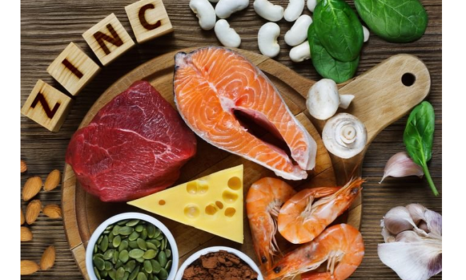 zinc-enriched foods for male fertility